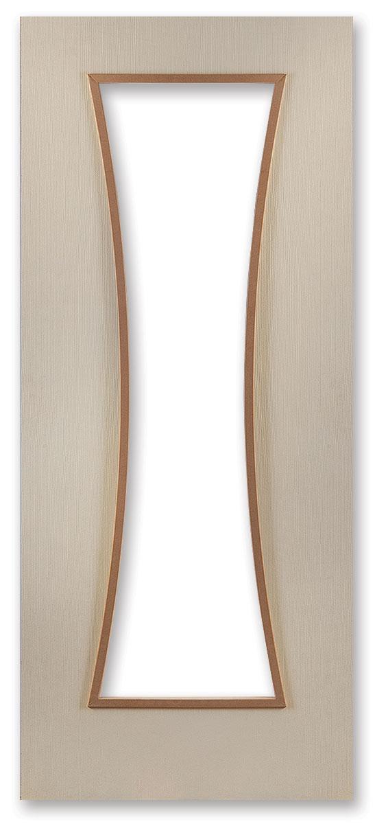Стъклодържатели за врати Ваза - 2150 x 850мм